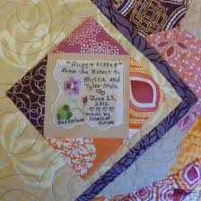 40 best Quilt - Label Ex&les images on Pinterest | Cards, Tags ... & Handkerchief quilt label Adamdwight.com
