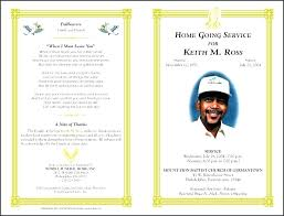 Funeral Templates Free Stunning Obituary Card Template Free Funeral Invitation Memorial Download