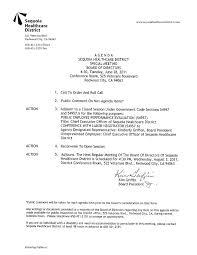 Non Profit Board Meeting Agenda Template Nonprofit Sample Simple ...