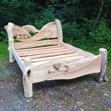 Breezy Beach Driftwood Bed