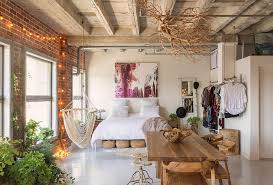 awesome eclectic bedrooms with string