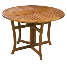 we ve found the perfect patio furniture for you the eucalyptus round folding deck table will be a gorgeous addition to your outdoor furniture
