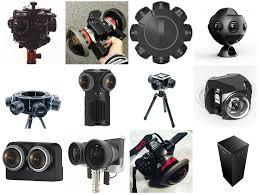 Large Sensor Professional 360 Camera Comparison Chart The