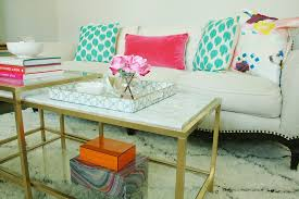 diy marble gold coffee table darling darleen a lifestyle design blog with regard to diy decor 8