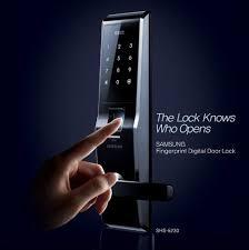 Fingerprint Door Lock  This Advanced Lock Only Opens The Door When Both Fingerprint Identification And