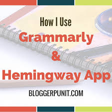 how i use grammarly and hemingway app to cleverly check my grammar  how i check my grammar online