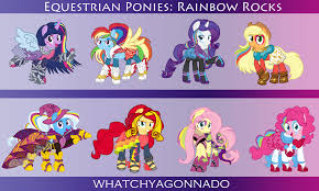 662054 absurd res applejack artist whatchyagonnado equestria s equestria s outfit fluttershy mane six pinkie pie rainbow dash