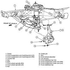 7 0 ford engine parts diagram similiar 2004 ford explorer suspension diagram keywords suspension diagram moreover 1999 ford ranger front suspension diagram