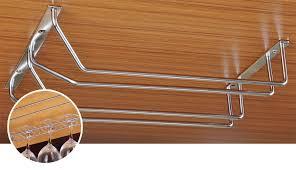 Wine Glass Hangers Under Cabinet Wine Glass Holder Newzor