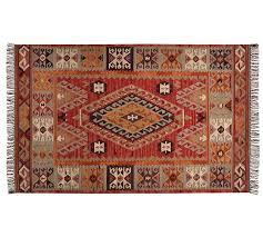 cyndy kilim recycled yarn indoor outdoor rug