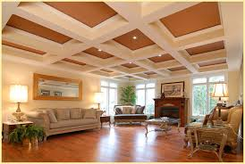 coffered ceiling lighting. Contemporary Ceiling Image Of Coffered Ceiling Lighting For Living Room Throughout