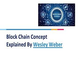 Block Chain Concept Explained by Wesley Weber |authorSTREAM