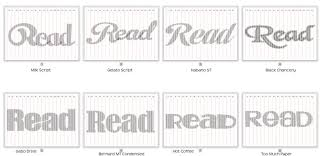 i had a request for some read templates which is pretty por it s a nice simple word to fold and makes a great gift or decoration