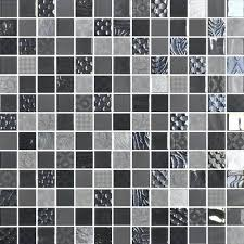 daltile glass mosaic uptown mosaics metro gray 1 x city lights in color daltile glass mosaic