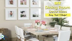 13 fabulous diy dining room decorating