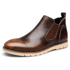 <b>High</b>-<b>quality</b> Men <b>Genuine</b> Leather Slip On Vintage Color <b>Casual</b> ...