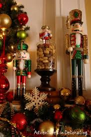 Adventures in Decorating: this might be a good idea to make my nutcrackers  look more