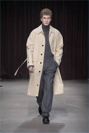 the iconic trench coat is front and center for boss hugo boss fall winter