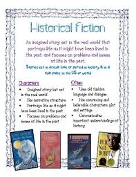 Historical Fiction Anchor Chart Historical Fiction Anchor Chart