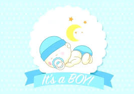 Free Birth Announcement Template Baby Boy Sample