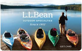 l l bean gift cards