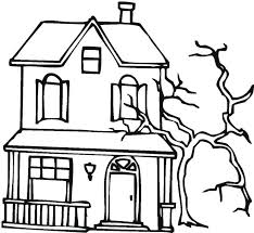House Coloring Pages Preschool Authentic Page Com Gingerbread For
