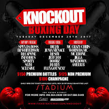 dr jay premium knockout boxing day toronto ft dr jay buy tickets