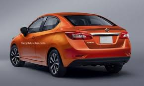 2018 nissan lineup. perfect lineup nissan sunny 2018 rendering intended nissan lineup