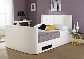 Small Televisions For Bedrooms Tv Beds Double King Size Beds With Tv Time4sleep