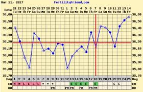 High Quality Basal Body Temperature Pregnancy Chart Examples