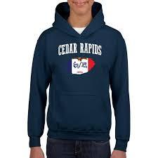 Walmart Cedar Rapids Iowa Normal Is Boring Cedar Rapids Iowa Youth Hoodie Hooded Sweatshirt