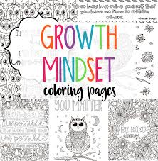 Growth mindset coloring pages to use in the classroom and at school. Growth Mindset Coloring Pages Plus A Freebie Littlessons