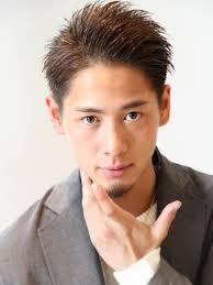 ウェットプレーンショートメンズ髪型 Lipps 原宿mens Hairstyle