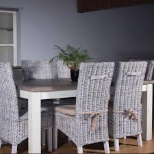 dining room sets with rattan chairs. dorset reclaimed wood extending rattan dining set room sets with chairs