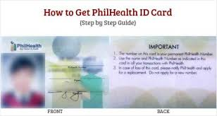 Ids Get To How Philhealth Id Philippine - Card