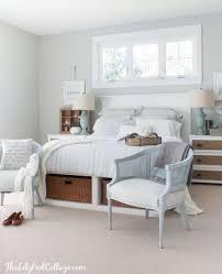 coastal cottage master bedroom