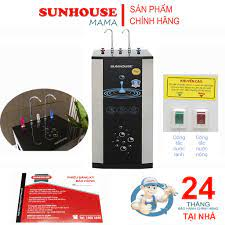 Máy lọc nước RO 10 lõi, 2 vòi nóng lạnh sunhouse SHR76210Ck - Hàng chính  hãng ( Freeship toàn quốc ) - Máy lọc nước có điện