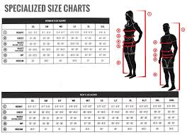 Specialized Clothing Size Chart Club Clothing Breakdown