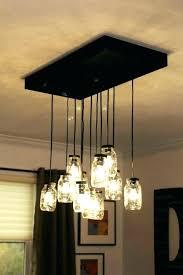 pottery barn mason jar chandelier light best ideas on ceiling diy