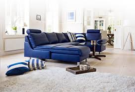 Leather Couch Living Room Decorating A Room With Blue Leather Sofa Traba Homes