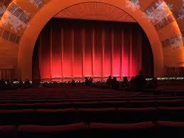 Radio City Music Hall Section Orchestra 5 Row F Seat 506