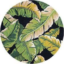 covington rainforest forest green black 8 ft x 8 ft round indoor