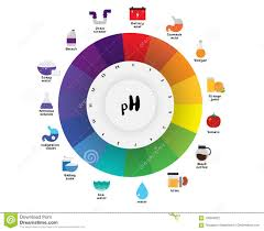 The Ph Scale Universal Indicator Ph Color Chart Diagram