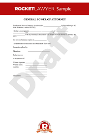 Durable Power Of Attorney Form Magnificent Power Of Attorney POA Free General Power Of Attorney Form