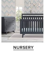 grey nursery furniture. Grey Wood Crib And Changing Table More Baby Furniture At Thebay.com. Nursery U