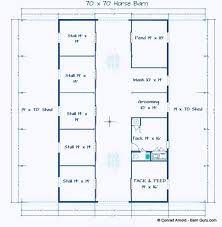 Stables Design Layout 6 Stall Horse Barn Plans Horse Barn Plans Barn Plans