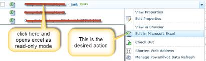 Excel Links Open Files As Read Only Mode How To Change This