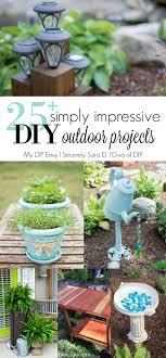 Diy Outdoor Projects 25 Simply Impressive Diy Outdoor Projects My Diy Envy