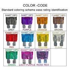 Gmt Fuse Color Code Chart Gmt Fuse Color Code Coloringwall Co