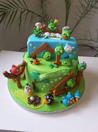 010fb00b7745c3c4b781dee9460f89ef angry birds party angry birds cake